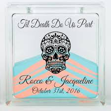 wedding sand ceremony vases unity sand ceremony kit with lid halloween or day of the dead