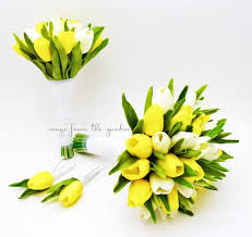 wedding flowers tulips real touch tulips wedding flower package bridal bridesmaid