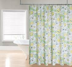 Yellow Damask Shower Curtain Amazon Com Regal Home Collections Printed Flower Fabric Shower