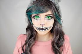 cheshire cat face makeup alice wonderland on pinterest face