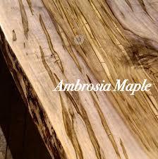 live edge table benches ambrosia maple rustbelt reclamation