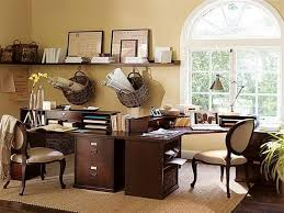 Decoration Ideas For Office Desk Traditional Home Design Design Donchilei Com
