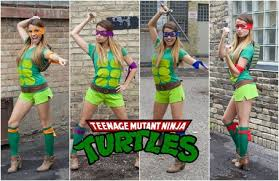 Ninja Turtle Halloween Costume Girls Cute Group Halloween Costumes Hunt
