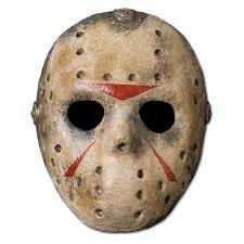 party city halloween mask friday the 13th jason deluxe mask walmart com