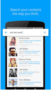 contacts android app remember names using humin contacts app for android and ios phones