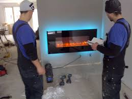 contemporary electric fireplaces channel custom builders