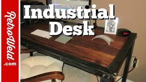Handmade Industrial Furniture - handmade industrial table build