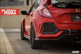 Honda Civic Type R Alloys For Sale Red 2018 Civic Type R Looks Complete On Hre Wheels Autoevolution