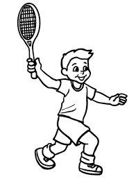 hello kitty tennis coloring pages cartoon coloring pages of