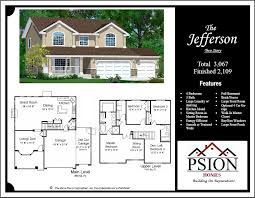 2 story floor plans 2 story floor plans psion homes