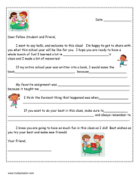 a friendly letter to next year u0027s student with free template
