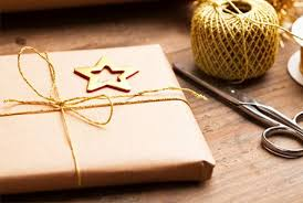 recycled christmas wrapping paper give the gift of sustainability eco friendly gift wrap ideas