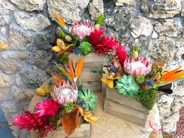 Wildflower Arrangements by Vintage Tropicals Flower Arrangements Designed By Steven Bowles