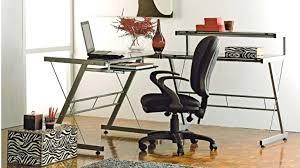 Glass Top Computer Desks For Home Glass Computer Desk Australia Techno Desk Desks Suites Home Office