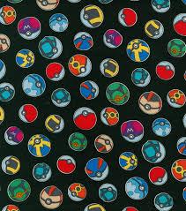Joanns Halloween Fabric Pokemon Balls Cotton Fabric Joann