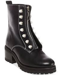 motorcycle booties steve madden women s granite motorcycle booties boots shoes macy s