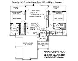 One Story House Plans With Basement Craftsman Bungalow House Plan Sg 1596 Aa Small Craftsman