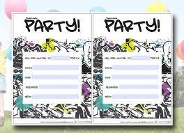 12 year old birthday invitations printable addnow info