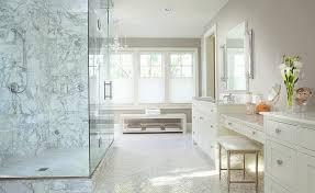 terry makeup vanity stool transitional bathroom