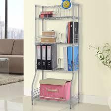Bathroom Wire Shelving Aliexpress Com Buy Langria 4 Tier Classic Metal Wire Bookshelf