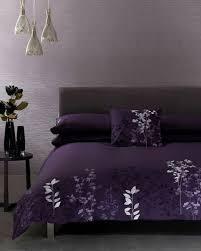 Duvet Cover Purple Purple And Black Duvet Cover 7048