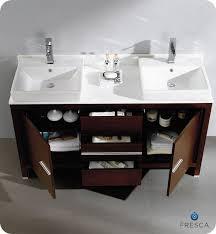 fresca allier 36 quot wenge brown modern bathroom vanity w gym equipment fresca allier 60 wenge brown modern double sink