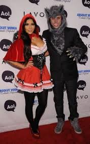 Wolf Halloween Costume Red Riding Hood Big Bad Wolf Couples Costume Red