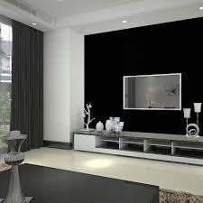 black wallpaper solid color vinyl wallpaper black mural wall