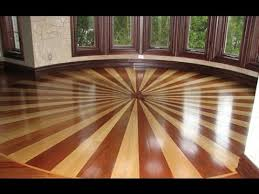 custom 3d wood flooring inlay design
