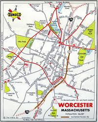Lowell Massachusetts Map by Interstate Guide Interstate 290 Massachusetts
