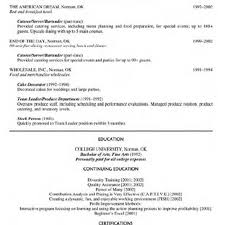 Food Service Resume Cover Letter For Food Service Director Job Cover Letter Templates