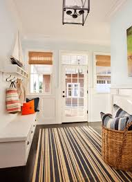 Mudroom Bench Seat Mudroom Decorating Ideas Entry Beach Style With Blue Entryway