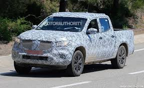 audi pickup truck 2018 mercedes benz x class spy shots