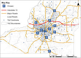 Iowa Road Conditions Map Impacts Of Disrupted Road Networks In Siting Relief Facility