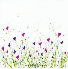free printable splattered paint flower art flower journal