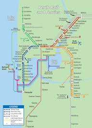 Transport Map Perth Public Transport Map The Shed U0027s Guide To Perth