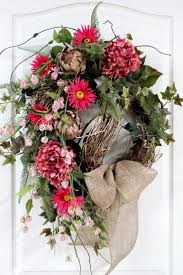 Spring Wreath Ideas 504 Best A Door Able Wreath Ideas Images On Pinterest Spring