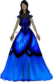 blue morpho butterfly dress by antler on deviantart