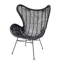 rattan egg chair in three colours by out there interiors