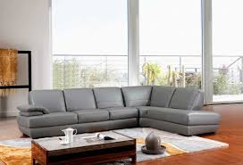 Modern Gray Leather Sofa Modern Grey Italian Leather Sectional Sofa Vg208 Leather Sectionals