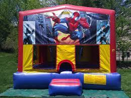 spider man jump house moonwalk children u0027s party theme rentals