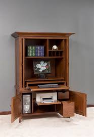 Amish Computer Armoire Oak Tree Furniture Amish Furniture Quality Amish Made