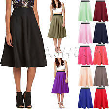 knee length skirt womens knee length skirt ebay