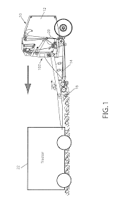 patent us8413414 continuous round baler with accumulation