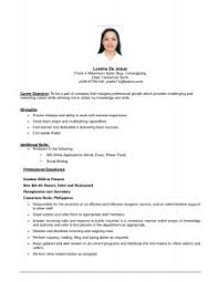 Example Of Resume To Apply Job by Examples Of Resumes 85 Astounding Online Resume Sample Format