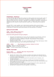 Best Resume Of The Year by Resume Of Pharmacy Student Resume For Your Job Application