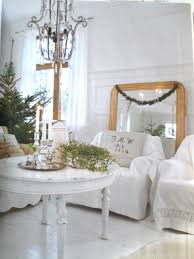 chippy shabby holiday decorating issue romantic homes