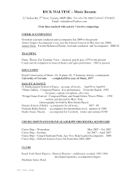 Actor Resume With No Experience Musician Resume Resume Cv Cover Letter