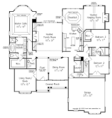 House Plans With Breezeway Front Base Modelone Story House Plans With Garage On Side Small