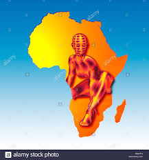 Africa On The Map by Africa African Map Continent Stock Photos U0026 Africa African Map